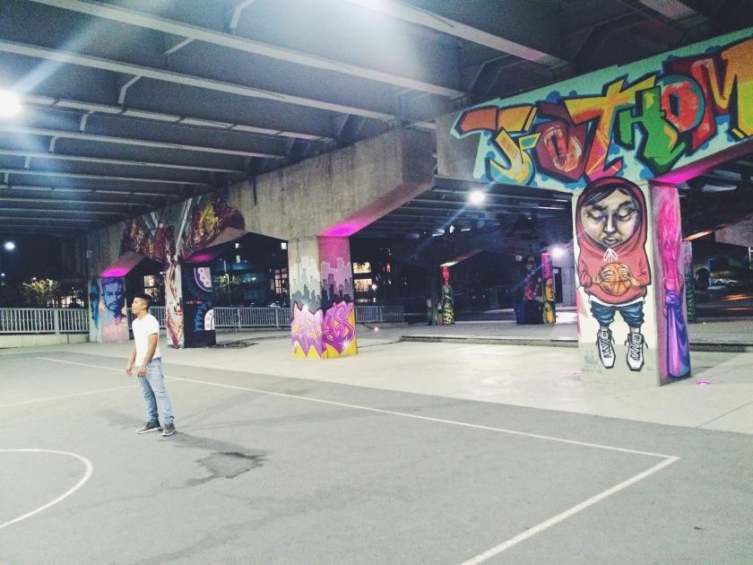 Basketball and Street Art