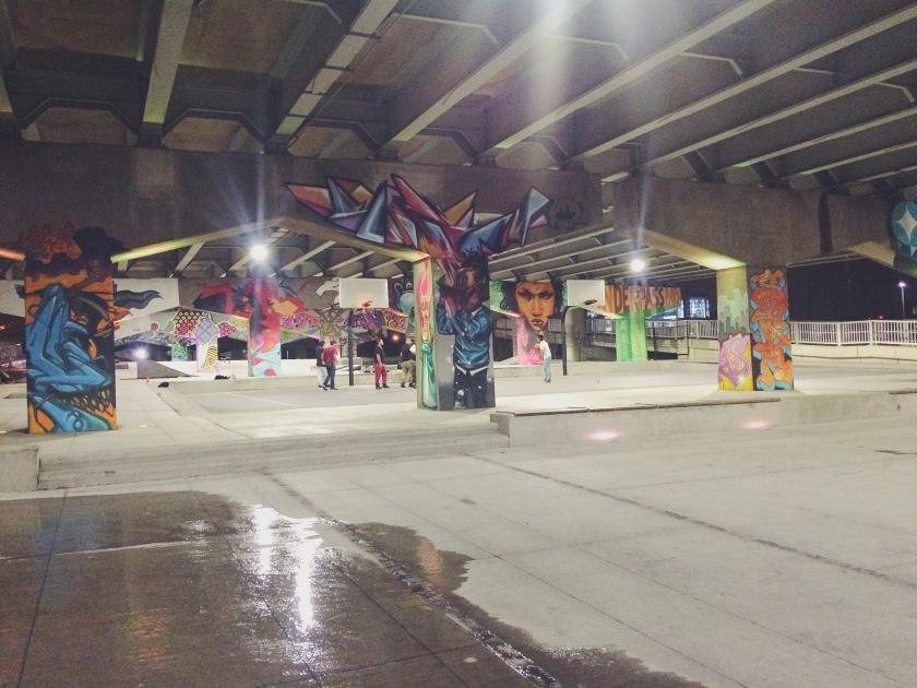 Street Art Underpass Park